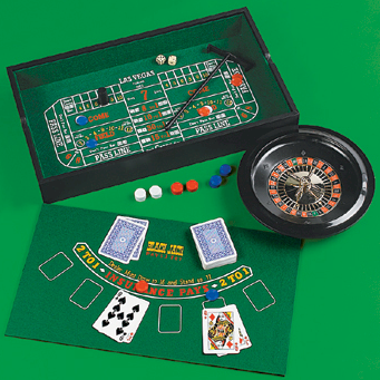 casino game set 7 in 1
