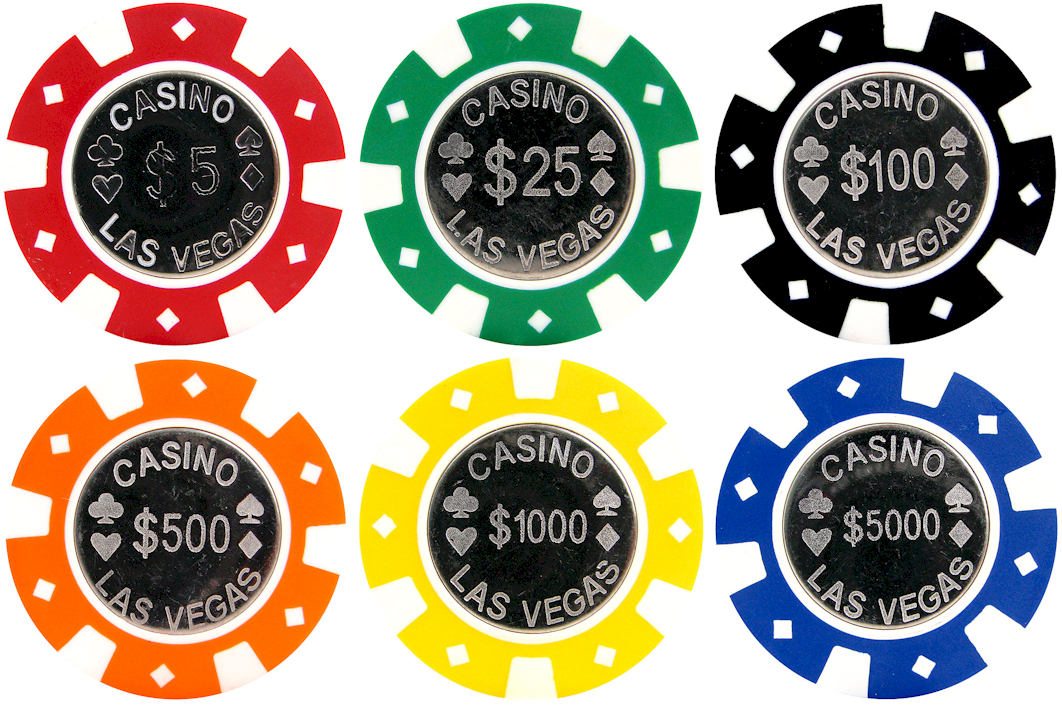casino chips value