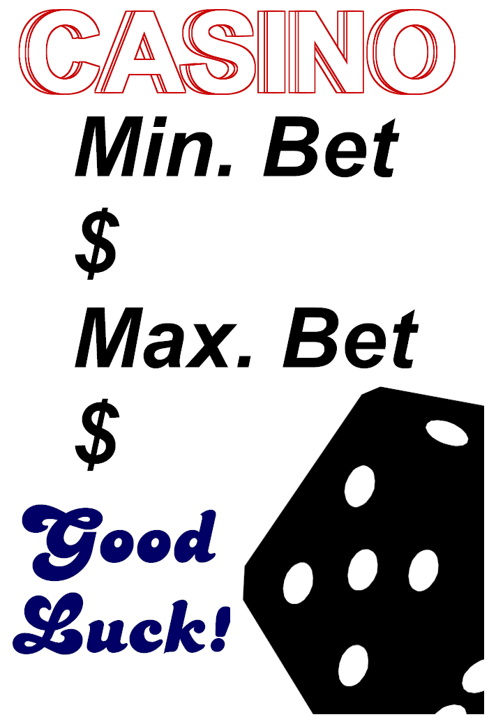 Normal blackjack table limits